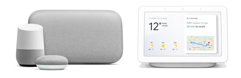 Picture of connecting Google home